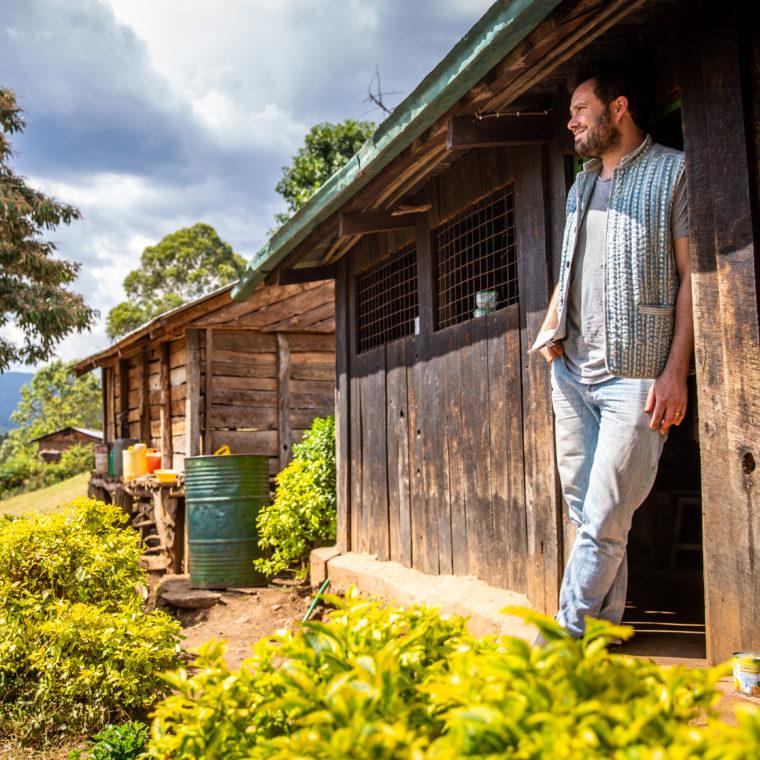Samuel Levie in Kenia voor Coffee to Stay