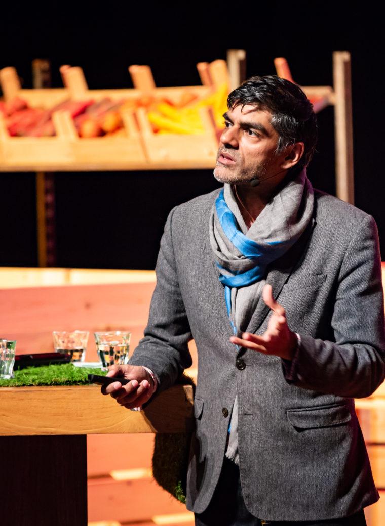Raj Patel, Floriade Dialogues Summit 2019 Photo: Nichon Glerum