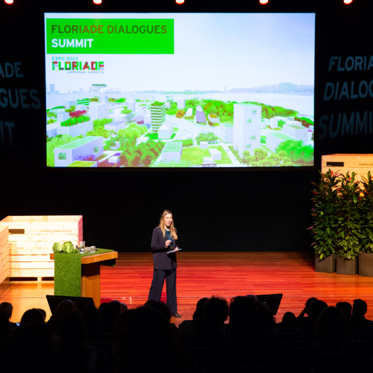 Floriade Dialogues Summit 2019 Photo: Nichon Glerum