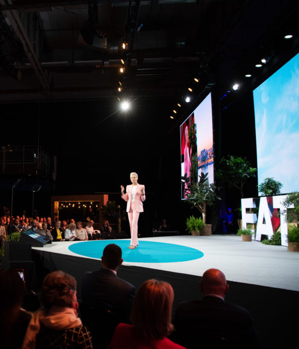 Gunhild Stordalen op het EAT Stockholm Food Forum 2019