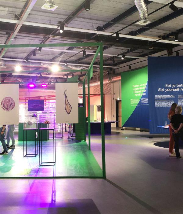 Tentoonstelling Voedsel van Morgen van Chloé Rutzerveld - Food Cabinet
