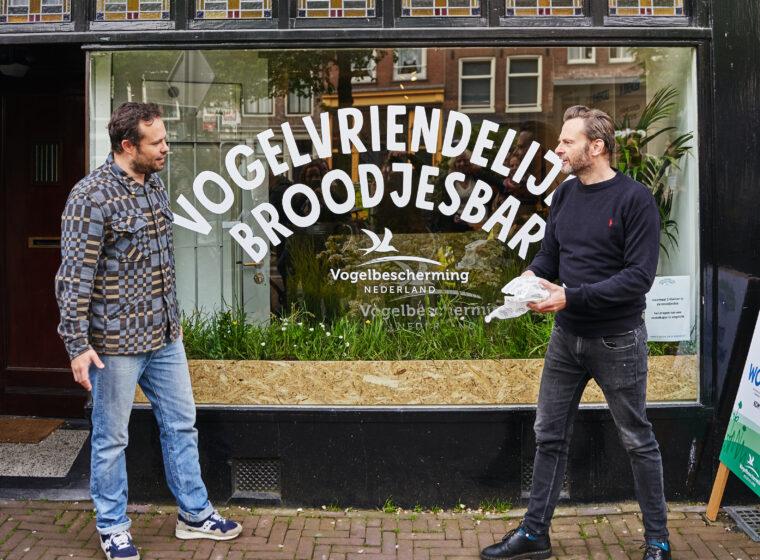 Opening Vogelvriendelijke broodjesbar, fotografie Mitchell van Voorbergen - 5