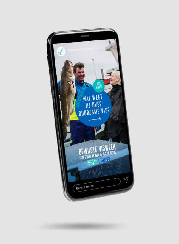 Bewuste Visweek - Een goed verhaal op je bord
